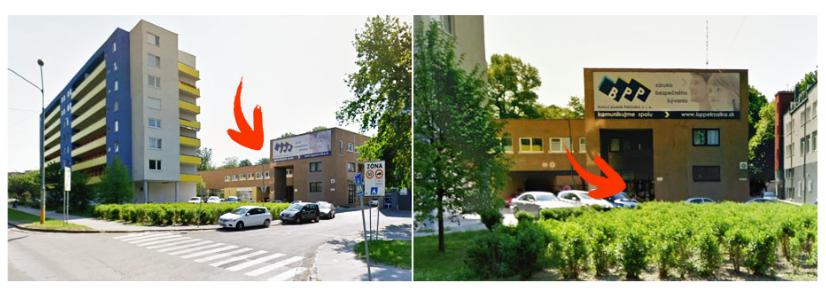 Sídlime v budove Bytového podniku Petržálka (BPP)