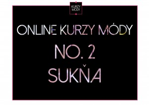 Druhý online kurz módy- sukňa