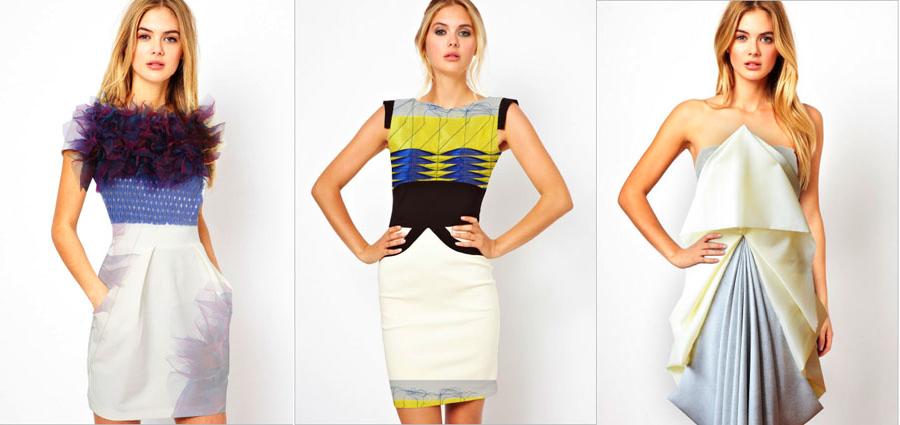 3 modely, príklad fashion stylingu.
